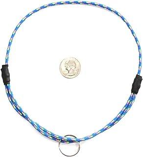 "National Leash Mountain Rope Dog ID Collar- Maui - Medium (14""-20"") Ultra Lite"