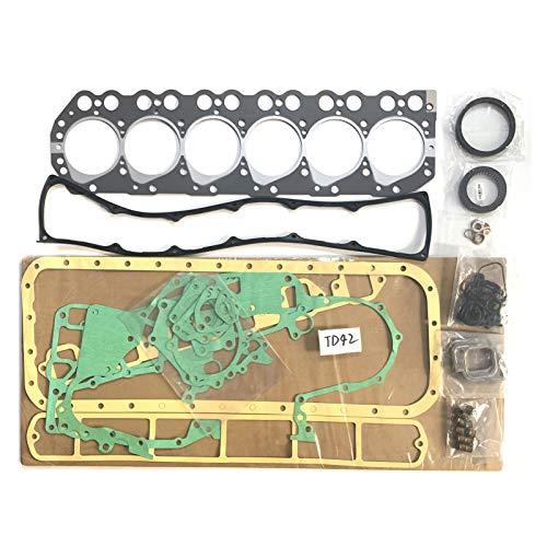 TD42 Complete Gasket Set 10101-VB285 51028400 10101-06J87 Engine Overhaul Gasket Kit for Nissan SAFARI PICKUP Y60 Auto Parts