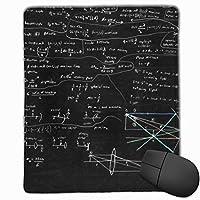マウスパッド ゲーミング オフィス最適 数学の方程式 高級感 おしゃれ 防水 耐久性が良い 滑り止めゴム底 ゲーミングなど適用 マウスの精密度を上がる( 25*30*0.3cm )