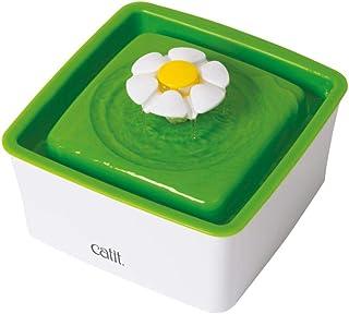Catit 43735W Mini Water Fountain, White/Green