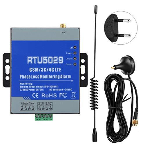 Exliy RTU5029 Alerta gsm Alerta de monitoreo gsm Transductor analógico(European Standard (100-240v))