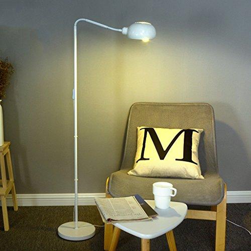 ZIXUANJIAXL Stehende Stehlampen Nordic Stehleuchte Schlafzimmer Lampe Einfache Moderne Stehleuchte Kreative Stehlampe Wohnzimmer Nachttischlampe Amerikanische Stehlampe Stehlampe