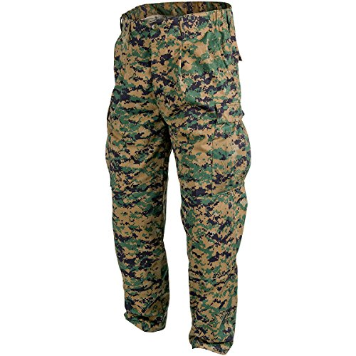 Helikon USMC Pantalones Policotton Twill digital Woodland tamaño M