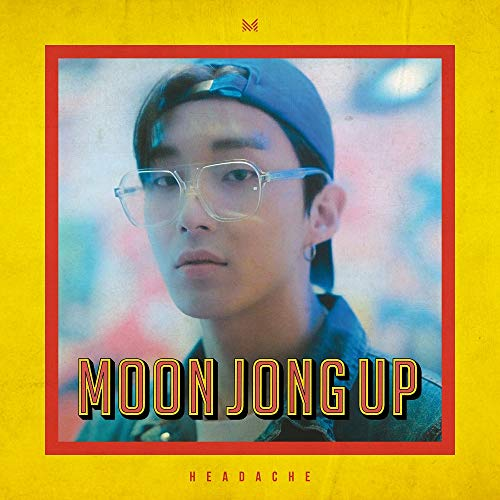 Kakao M Moon Jong UP - Headache (1st Single Album) Album+Folded Poster+Extra Photocard
