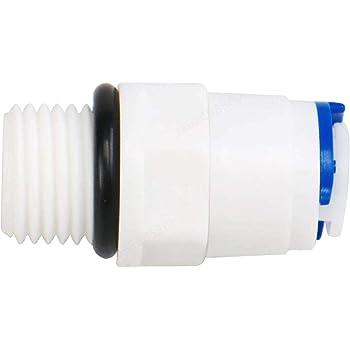 LAQI Tubos purificadores de Agua de conexión rápida Tubo Recto, 1 ...
