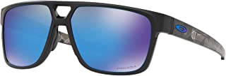 Oakley Men's OO9382 Crossrange Patch Rectangular Sunglasses