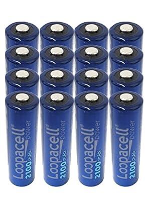 AA 2100mAh Loopacell Batteries
