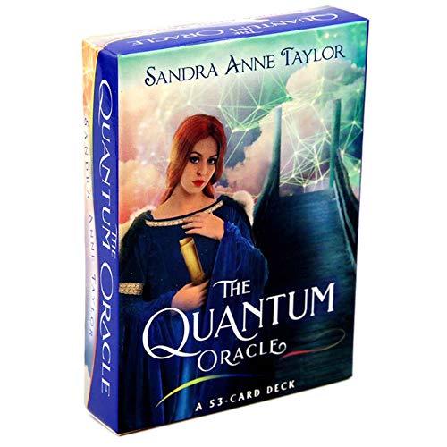 LHYAN Das Quantum Oracle Tarot Cards Divination Brettspiel für Party Entertainment - 53 Blatt