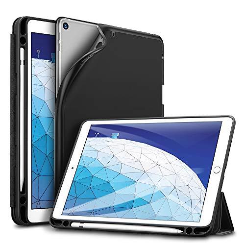 ESR Hülle kompatibel mit iPad Air 3 2019 10.5 Zoll - Ultra Dünnes Smart Hülle mit Stifthalter - Auto Schlaf-/Aufwachfunktion - Kratzfeste Schutzhülle für iPad 10.5