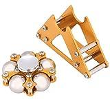 Lazmin Riesenrad-Kreisel-Spielzeug, Aluminiumrad-Kreisel mit Stativ-Schreibtisch-Druckentlastungs-Handspielzeug für Kinder Erwachsene