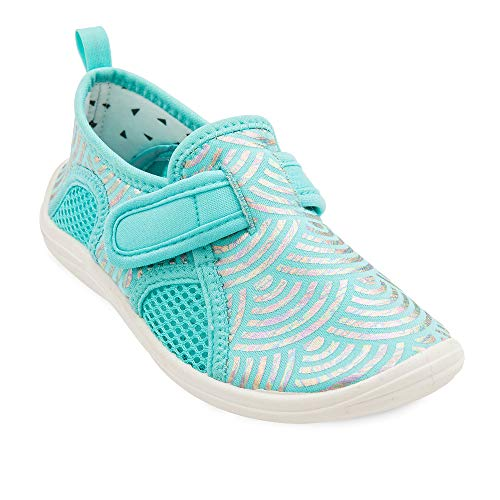 Disney Little Mermaid Swim Shoes for Kids Size 8 Toddler Multi