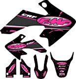 04-12 CRF50 Pink FMF Graphic Kit Shroud Plastic...