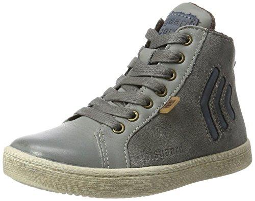 Bisgaard Unisex-Kinder Schnürschuhe Hohe Sneaker, Grau (425 Grey), 31 EU