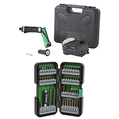 Hitachi DB3DL2 3.6V Lithium Ion Dual-Position Cordless Screwdriver (1.5Ah)