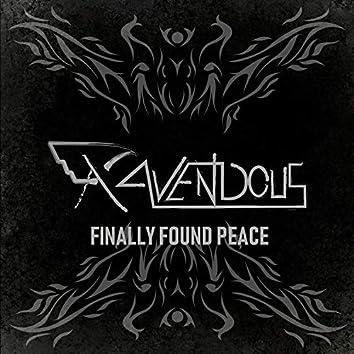 Finally Found Peace