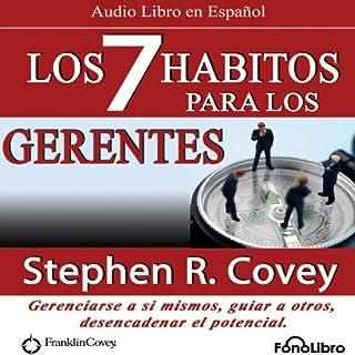 Los 7 Habitos para los Gerentes (Texto Completo) cover art