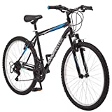 Roadmaster - 26 Inches Granite Peak Men's Mountain Bike, Black/Blue