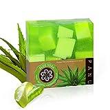 Panu Duschseife Vegan - Aloe Vera Naturseife - Körperseife für jeden Hauttyp - Haarseife...