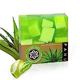 Panu Aloe Vera Seife - Vegane Duschseife für alle Hauttypen - Naturseife als festes Duschgel und...