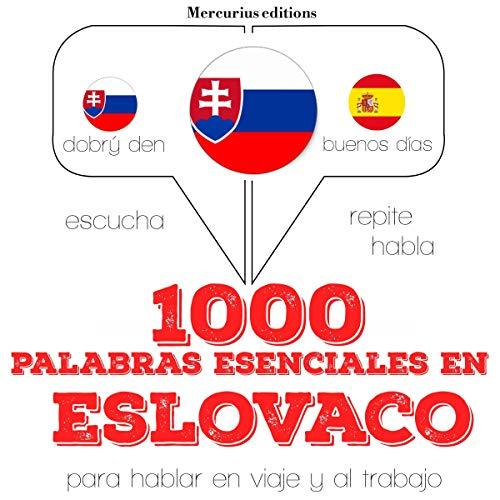 1000 palabras esenciales en eslovaco audiobook cover art