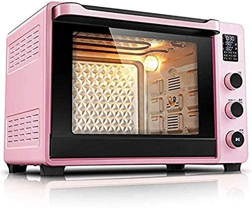 Horno inteligente, Mini horno eléctrico con cocina Hogar para hornear Horno de pastel 40L HOGAR AUTOMÁTICO MINI HORNO LED Pantalla Convección Tostadora Horno