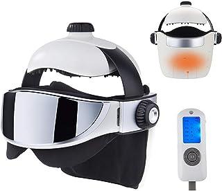 WOERD Masseur Occulaire Électrique pour Massage des Yeux Tete avec Pression d'Air Compression de Chaleur Musique pour Migr...