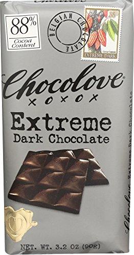 Chocolove, Extreme Dark Chocolate 88%, 3.2 oz