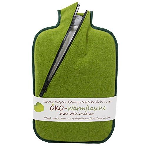Hugo Frosch Öko-Wärmflasche Softshell bambus