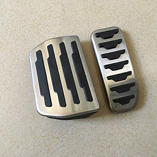 Preisvergleich Produktbild WZJFZPL Autozubehör Für Land Rover Range Rover Evoque / Discovery at Auto Bremse Fußstütze Pedal Aufkleber Abdeckungen / Fußstütze Pedal / Pedal Autozubehör / Bremsbeläge Abdeckung