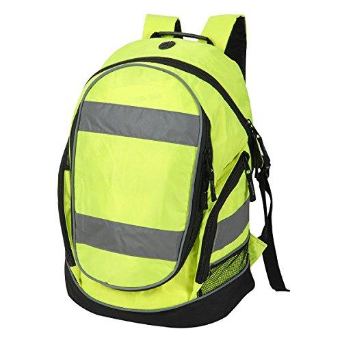 Rucksack in gut sichtbarem Neongelb