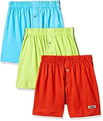 Rupa Frontline Kids Boys Cotton Boxer (Pack of 3)