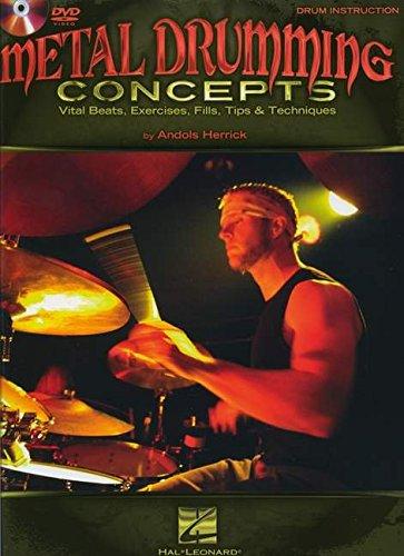 Metal Drumming Concepts: Noten, Lehrmaterial, Bundle, DVD (Video) für Schlagzeug (Metal Drumming Concepts Bk/DVD)