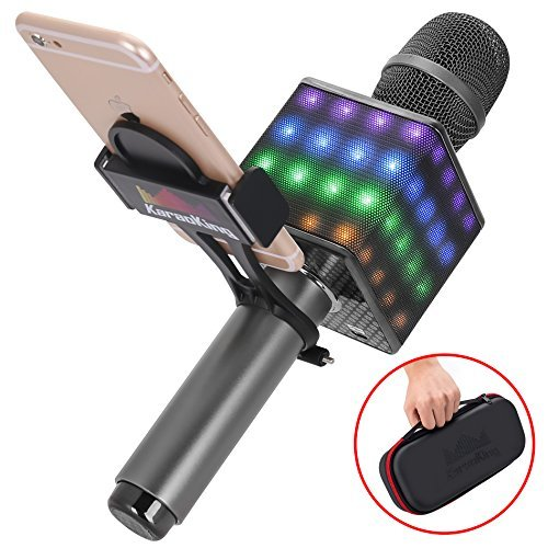 KaraoKing Portable Wireless Bluetooth Karaoke Microphone