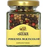 Onena - Pimienta Multicolor - Especias Puras para Salsas Carnes y Mariscos - 40 Gramos