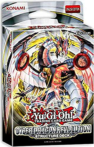 Yu-Gi-Oh - Starter, Structure & Special Decks TCG Trading Card Game Cyber Dragon Revolution Deck -42 Cards