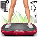 Sportstech Plate-Forme vibrante VP200 Technologie Oscillation Bluetooth, Affiche Incluse, Sangles...