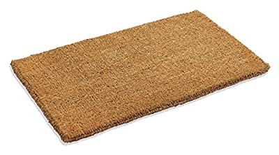 Kempf Plain Coco Doormats Keep Your Floors Clean - Make Your House Stylish and Chic with Natural Plain Doormat