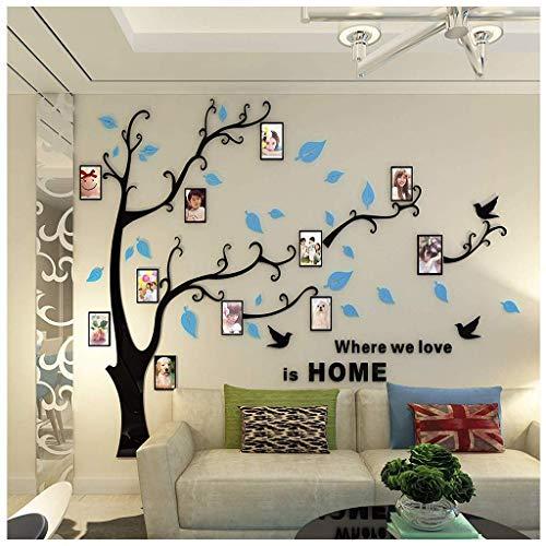DX Muursticker foto boom 3d muur stickers acryl woonkamer bank tv achtergrond muur kinderkamer decoratie home decoratie