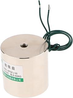 Elektrische magneet, zuignap DC elektromagneet, draaivlak, elektromagneet, hefvermogen 50 kg