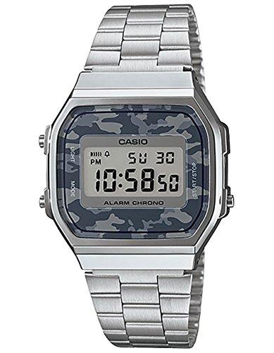 Casio Vintage Collection a168wec-1vt reloj, plata