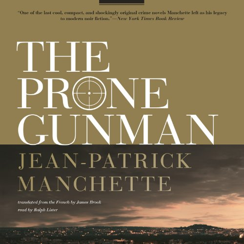 The Prone Gunman audiobook cover art