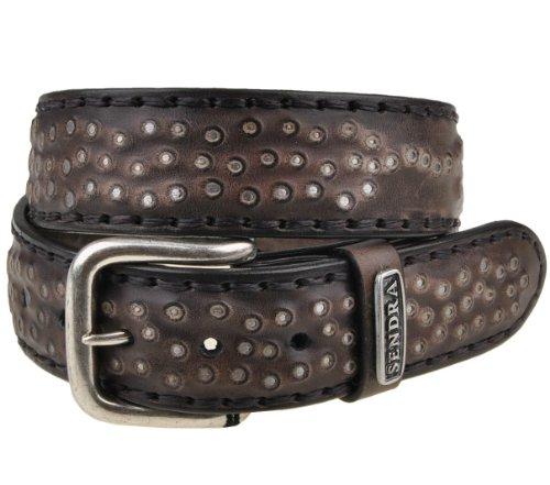Sendra 480 ceinture en cuir marron - Marron - 110