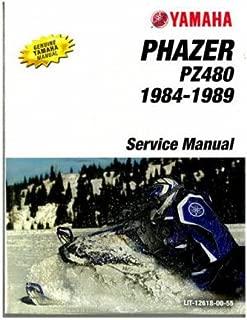 LIT-12618-00-55 1984-1989 Yamaha Phazer PZ480 Snowmobile Service Manual