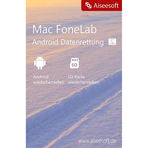 FoneLab für Android-Data Recovery MAC Vollversion (Product Keycard ohne Datenträger)