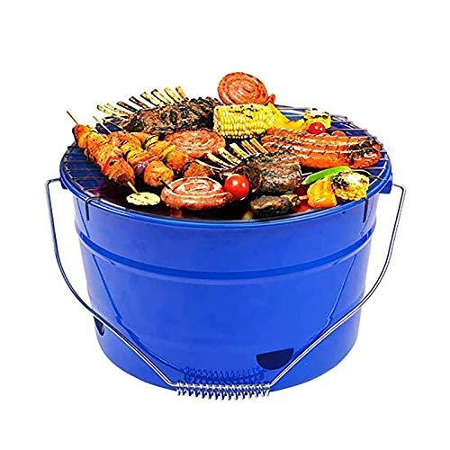Uten - Mini barbecue rond, au charbon