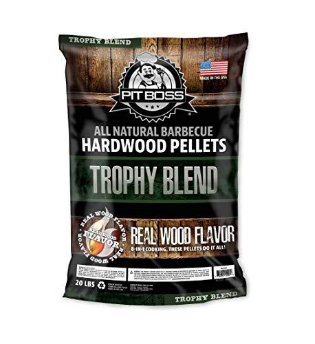 PIT BOSS 55247 20lb Trophy Blend Wood Pellets