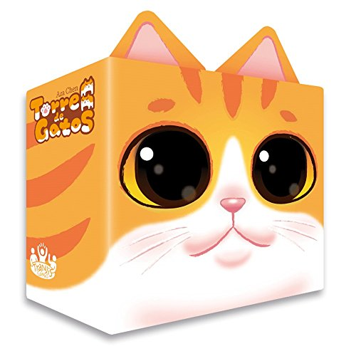 Tranjis Games - Torre de gatos - Juego de mesa (TRG-06cat)