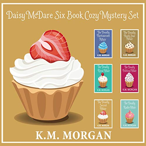Daisy McDare Six Book Cozy Mystery Set cover art