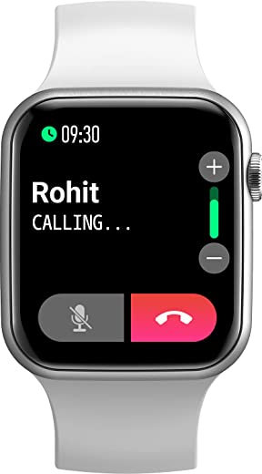 """Fire-Boltt Ring Bluetooth Calling Smartwatch with SpO2 & 1.7"""" Metal Body with Blood Oxygen Monitoring, Continuous Heart Rate, Full Touch & Multiple…"""