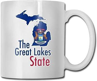 La tasse d'idées de tasse à café en céramique de l'État des Grands Lacs Meilleure tasse de cadeau pour la famille et l'ann...